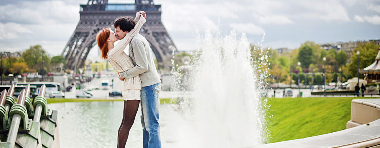 Paris - the most romantic city in the world!