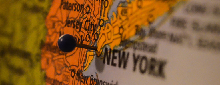 New York Map Pin