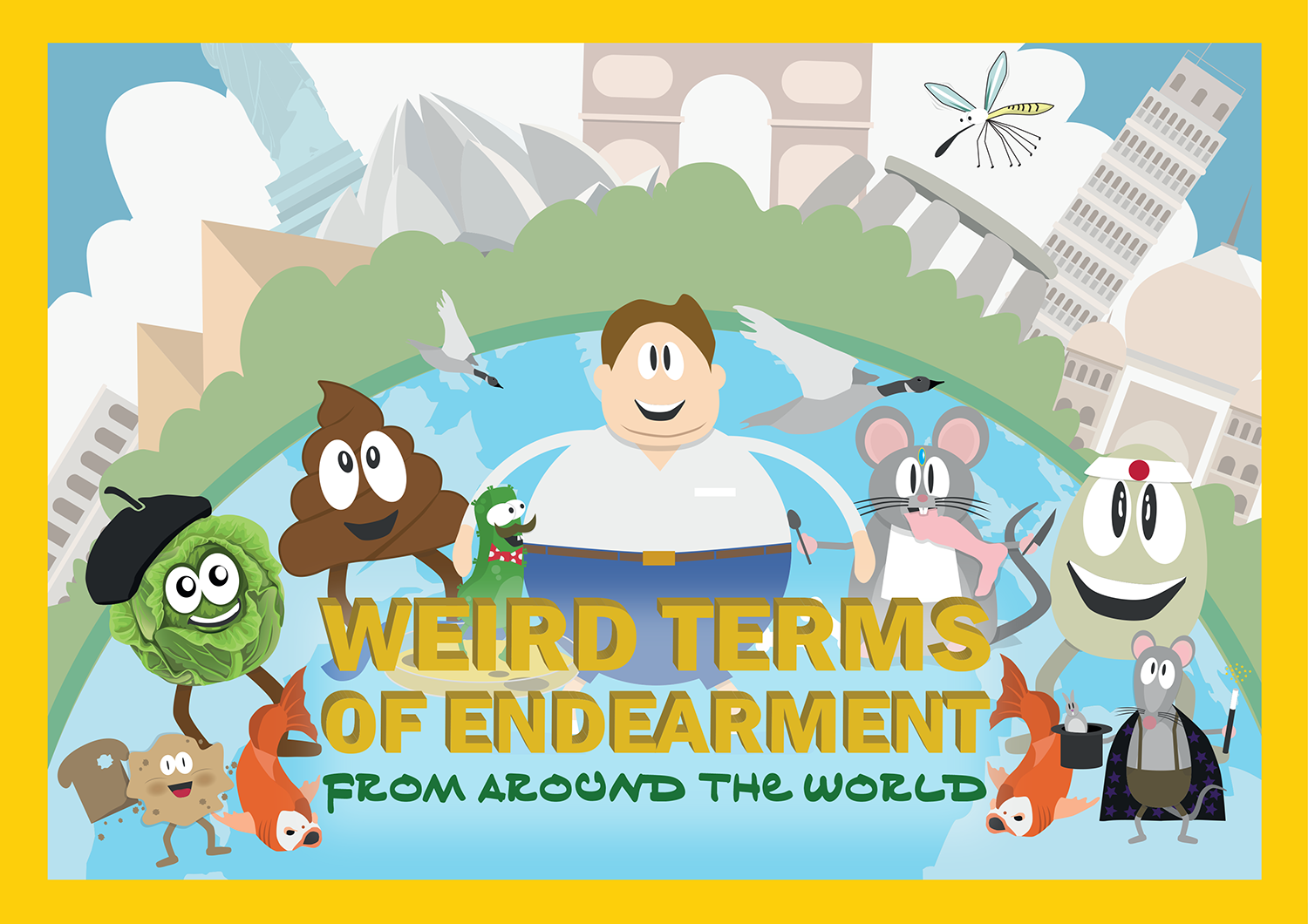 Direct Travel - Weird Terms of Endearment from around the World